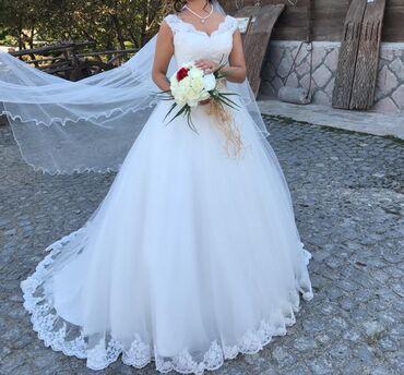 Продаю свадебное платье. Производство Турция. Надевали всего один раз