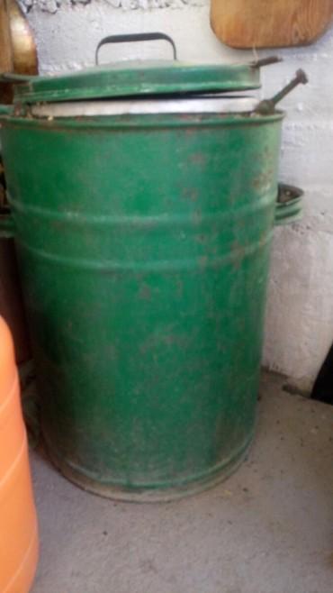 Баки и бочки - Кыргызстан: Пищевой военнополевой термос 35 литров