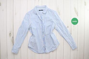 Рубашки и блузы - Цвет: Голубой - Киев: Жіноча сорочка у вертикальну смужку Gina Tricot, p. S    Довжина: 65 с