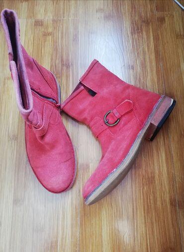 go pro hero 3 в Кыргызстан: Деми ботинки 38р. Натуральная замша+натуральная кожа+натуральная