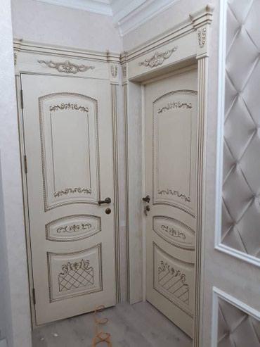 Установка дверей врезка замка в Бишкек