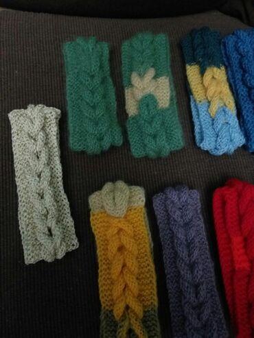 Prelepe zimske trake za kosu,ručni rad,vunica,u nekoliko boja.Cena po