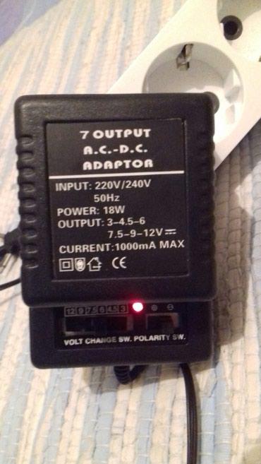 Foto i video oprema | Srbija: Univerzalni ispravljac adapter deluxe ac/dc 1000 ma