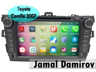 Bakı şəhərində Toyota Carolla 2006-2012 üçün monitor. Монитор для Toyota Carolla 2006