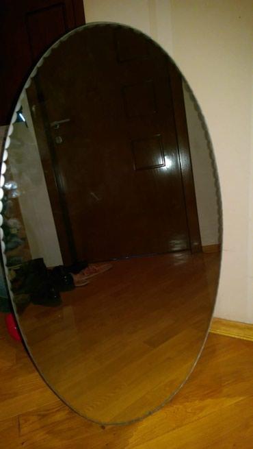 Овальное большое зеркало в Bakı