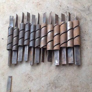 Ножи для станка сетки рабицы полуавтомат Китай в Бишкек