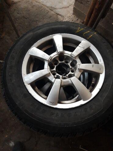 Продаю титановые диски с летними шинами. состояние отличное.комплект.(