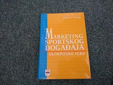 Izdavanje - Srbija: Marketing sportskog događaja - Miloš B. Trkulja  Naslov: Marketing spo