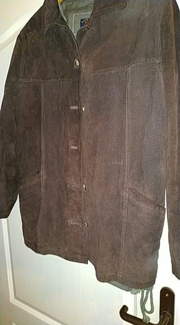 Kozna jakna zenska od velura , vel.xl,, velur.Veoma kvalitetna. ,.Ko - Pancevo