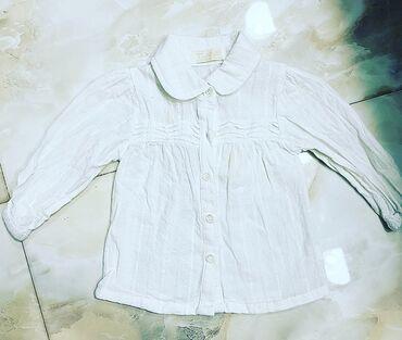 детские водолазки в Азербайджан: Белая детская сарочка на 1годик