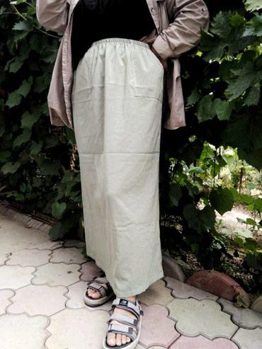 Длинная юбка в пол,с большими в Бишкек