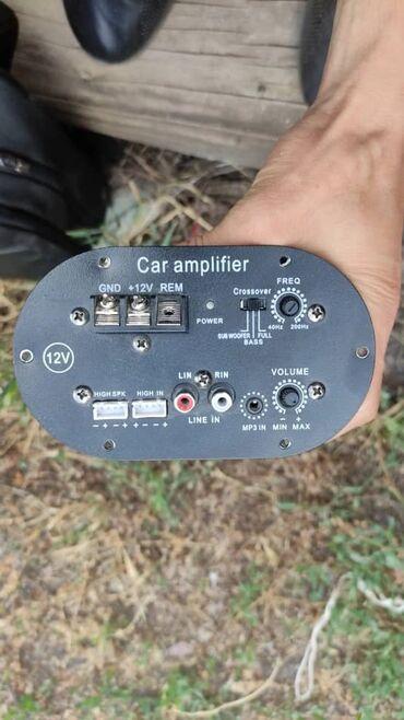 Электроника - Полтавка: Продаю усилитель 12v Сабвуфер включается но не работает