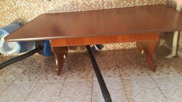 Дом и сад - Кок-Ой: Продаю стол. Качественный, без царапин. Размер 115×70  Ж/м Ак ордо 3