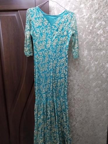 Продам платье-русалка в идеальном состоянии, одевала 1 раз.  в Бишкек