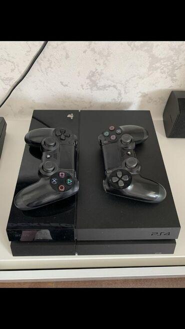 геймпад для гонок в Кыргызстан: Продается Сони4 Sony4 PS4 1tb полный комплект 2 оригинальных геймпада