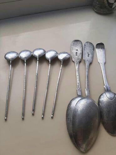 Коллекционные ложки - Кыргызстан: Куплю серебряные ложки