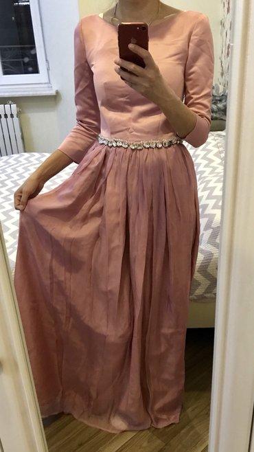 В живую оч красивое платье,одевала один раз на узату в Бишкек