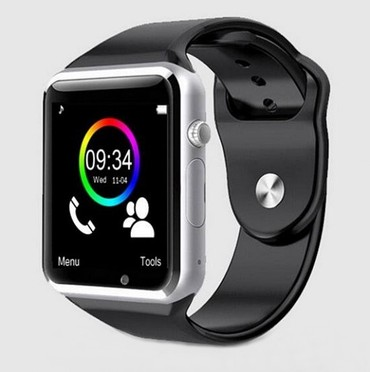 Mobilni-telefon - Srbija: Sivi metalik-Smart Watch A1-Pametni Sat-Mobilni TelefonSmart Watch A1