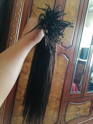 Digər - Saray: Təbii 95 ədəd qaynaqlıg saç. uzunluğu 55 sm. bir dəfə qəhvəyi rəng
