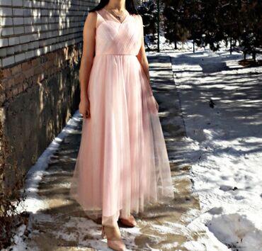 платья свободного кроя для полных в Кыргызстан: Продаю платье.Из Америки.Надевала только один раз .Размер 42-44