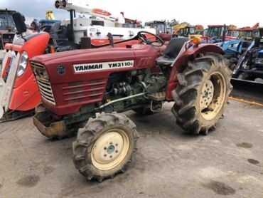 Сельхозтехника - Красный - Бишкек: Продается Японский трактор Янмар 3110, техника в пути