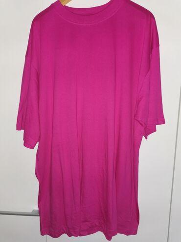 Ženske majice - Srbija: Nove veeelike majice, obim grudi 72x2, duzina 85cm,100%pamuk