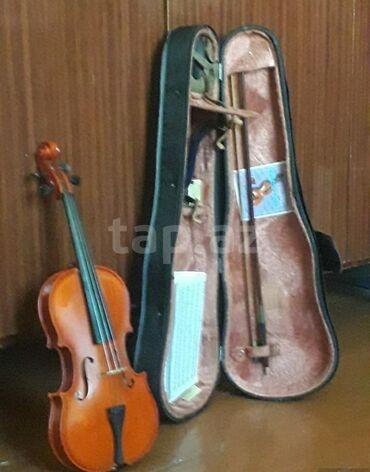 Skripkalar - Azərbaycan: Скрипка, 1/2-3/4купленная на заказ в 90-х годах в Чехии. В отличном