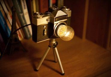 светильник настольный в Кыргызстан: Настольная лампа в ретро стиле . Тёплые воспоминания о фототехнике