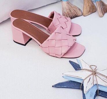 Nove extra kvalitetne papuče br 38 Štikla 4 cm