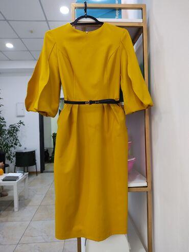 Красивое платье модный цвет. В отличном состоянии. Размер 46