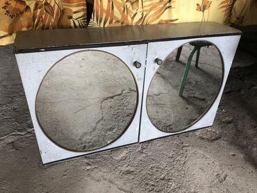 Декор для дома - Лебединовка: Зеркало в ванную комнату, с ящичками под шампуни и т.д