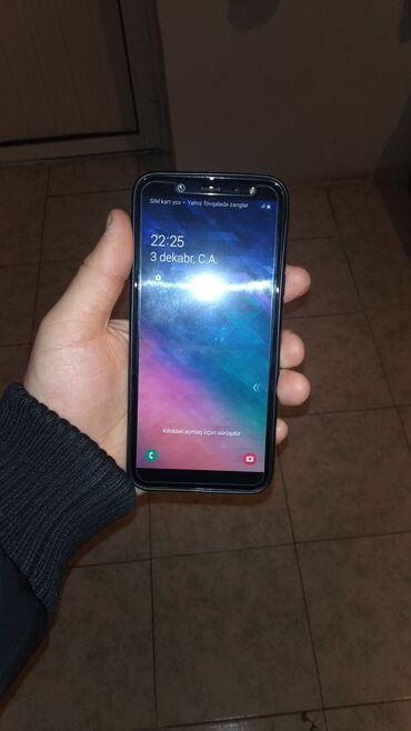 Samsung б у - Азербайджан: Б/у Samsung Galaxy A6 32 ГБ Черный