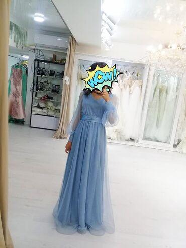 ленточки для подружек невесты в Кыргызстан: Продам элегантное вечернее платье для подружек невесты из тюля длиной