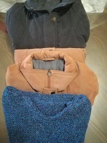 Ženska odeća | Vranje: Paket 2 jakne i 1 vuneni prsluk nov, vel 44 sve za 1800, jakne nošene