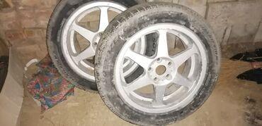 Диски для Mercedes benz R17 5*112 4 диска с резинами (уставшие