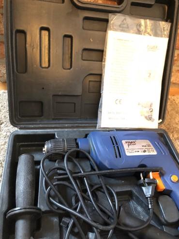 Instrumenti | Crvenka: Ručna bušilica na struju. Snage 810w