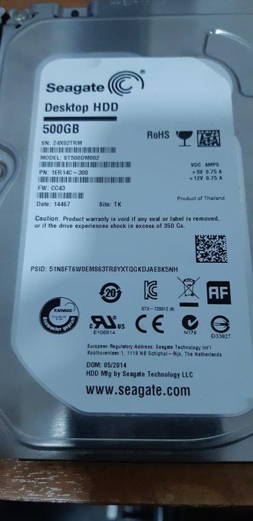 жесткий диск на 500gb в Кыргызстан: Жесткий диск на компьютер seagate 500gb sata здоровье 100%%% сам