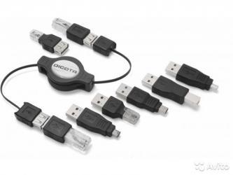 переходник в Кыргызстан: Dicota Gate - универсальный переходник USB