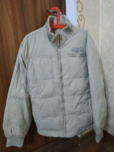 Б/у куртка мужская бежевая в Бишкек