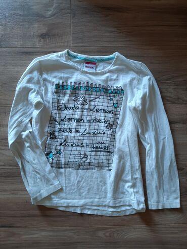 Majica sl - Srbija: Za devojčice YIGGA Majica bluzica dugi rukav. Slova su sjajna