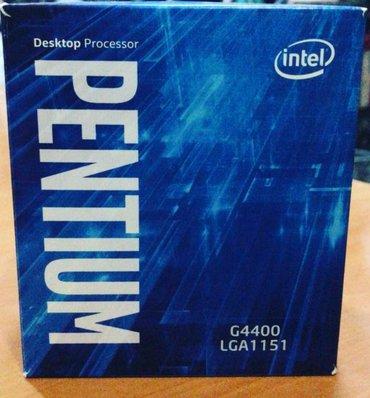 1151 socket platalar ucun sade pentium g 4400  olan  cpu satiwi in Bakı