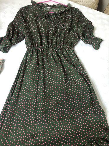 Продам корейское платье из шифона(креп) очень милое! Брала на приданое