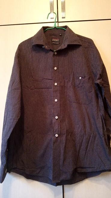 muzhskaja odezhda 40 h godov в Кыргызстан: Отличного качества Мужская турецкая рубашка . состояние новое.размер