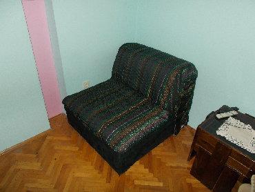 Fotelje | Srbija: Simpova fotelja na razvlačenje MOJCA Izuzetno lepo očuvana, tako reći