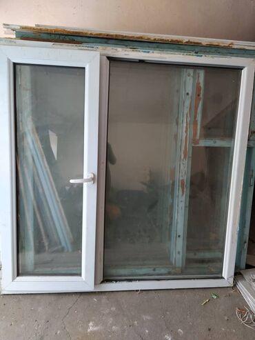 Продается окно Пластиковое размер 1.5 на 1.5