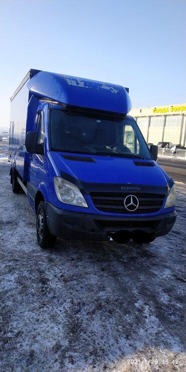 шины для грузовиков в Кыргызстан: Продаю Мерседес бенц 518 спринтер 2008г, об 3,сидяй 6 ступка