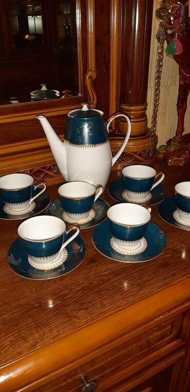 зарядка нокиа тонкая в Азербайджан: Сервиз чайно кофейный Чехословакия. Кофейный сервиз на 6 персон, 15