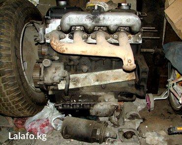 Продаю двигатель по запчастям от пежо j 5, б/у. объём 2,5 дизель. в Бишкек