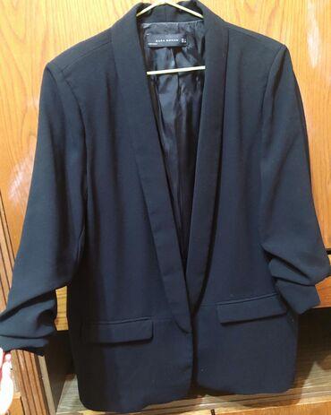Пиджак Zara Woman. Размер L. Б/у в хорошем состоянии. Самовывоз из