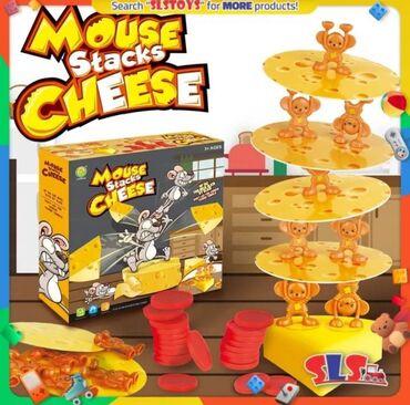 Društvena igra da li možete da napravite kulu od sira?Prvo stavite